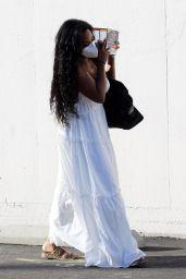 Kenya Moore at DWTS Studio in Los Angeles 10/10/2021