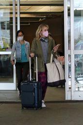 Kiernan Shipka at Vancouver International Airport 10/04/2021