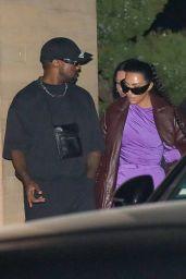 Kim Kardashian and Kanye West at Nobu in Malibu 09/30/2021