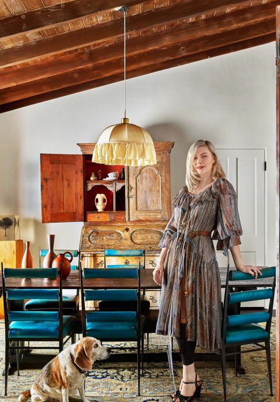 Kirsten Dunst - Architectural Digest October 2021