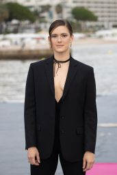 """Krista Kosonen - """"MISTER 8"""" Photocall at the 4th Canneseries in Cannes 10/09/2021"""