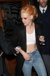 Kristen Stewart Night Out at Groucho Nightclub in London