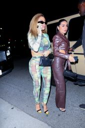Larsa Pippen – Arriving at Cardi B's 29th Birthday Party in LA