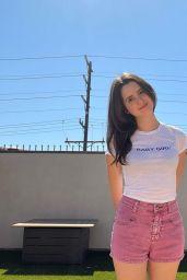 Laura Marano - Live Stream Video and Photos 10/02/2021