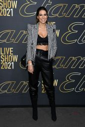 Laury Thilleman – Etam Womenswear Spring/Summer 2022 Show in Paris 10/04/2021