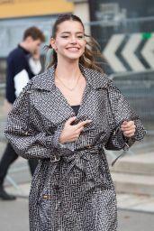 Lea Elui Ginet – Leaving L'Oreal Show at Paris Fashion Week 10/03/2021