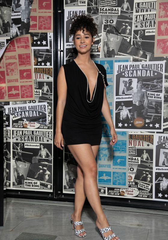 """Lena Situations - """"Scandal Homme"""" By Jean-Paul Gaultier : Launch Party in Paris 09/30/2021"""