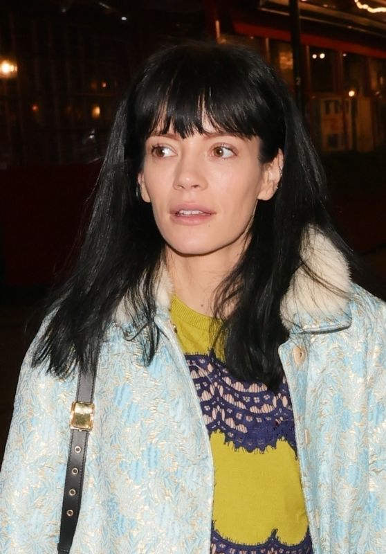 Lily Allen at 2.22a Ghost Story Theatre Production in London 10/06/2021