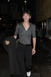 Lily Allen - Leaving the 222 Ghost Story Stage Production in London 10/07/2021