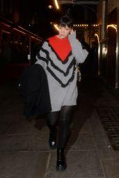 Lily Allen - Leaving the Noel Coward Theatre in London 10/08/2021