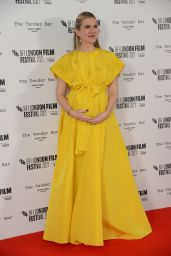 """Lily Rabe - """"Tender Bar"""" Premiere at the BFI London Film Festival"""
