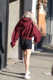 Lindsay Arnold at the DWTS Studio in LA 10/10/2021