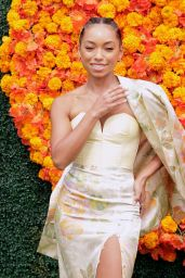 Logan Browning - 2021 Veuve Clicquot Polo Classic in Pacific Palisades