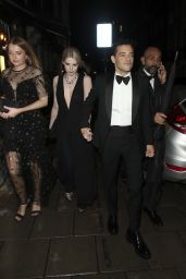 """Lucy Boynton and Rami Malek - """"No Time to Die"""" Afterparty at Annabel"""