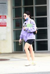 Lucy Hale - Leaves the Gym in West Hollywood 09/30/2021