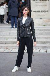 Luma Grothe – Leaving L'Oreal Show at Paris Fashion Week 10/03/2021