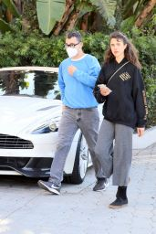 Margaret Qualley With Boyfriend Jack Antonoff - Out in Los Angeles 10/12/2021