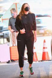 Maria Sharapova at LAX in Los Angeles 10/12/2021