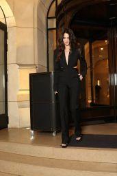 Maya Henry - Leaves the Hotel Lutetia in Paris 10/03/2021