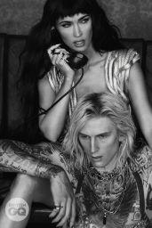 Megan Fox and Machine Gun Kelly - GQ Style UK October 2021