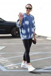 Melanie Chisholm at DWTS TV Show Rehearsals in LA 10/08/2021