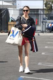 Melanie Chisholm - Heads Into DWTS Practice in LA 10/10/2021