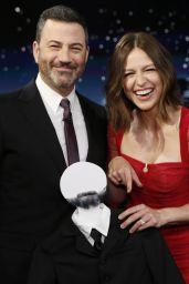 Melissa Benoist - Jimmy Kimmel Live 10/05/2021