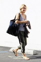 Melora Hardin at DWTS Rehearsal Studio in Los Angeles 10/10/2021