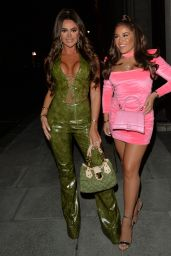 Mia Sully Night Out Style - Bagatelle in Mayfair 10/03/2021