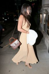 Michelle Keegan Wearing a Tight Fit Knitted Dress - London 10/05/2021