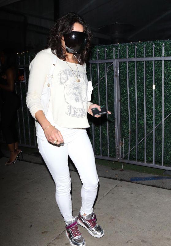 Michelle Rodriguez - Giorgio Baldi in Santa Monica 10/21/2021