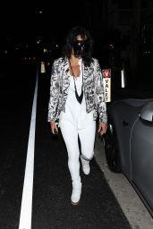 Michelle Rodriguez Wears a Black Face Shield - Giorgio Baldi in Santa Monica 10/06/2021