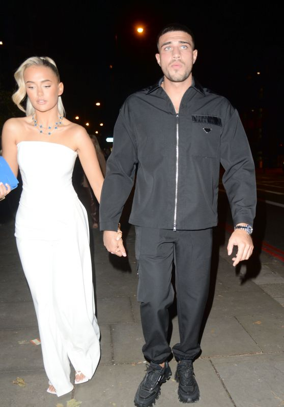 Molly Mae Hague - Leaving Molly-Mae - Christmas Product Launch Party in London 10/21/2021