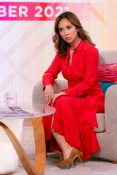 Myleene Klass - Lorraine TV Show in London 10/13/2021
