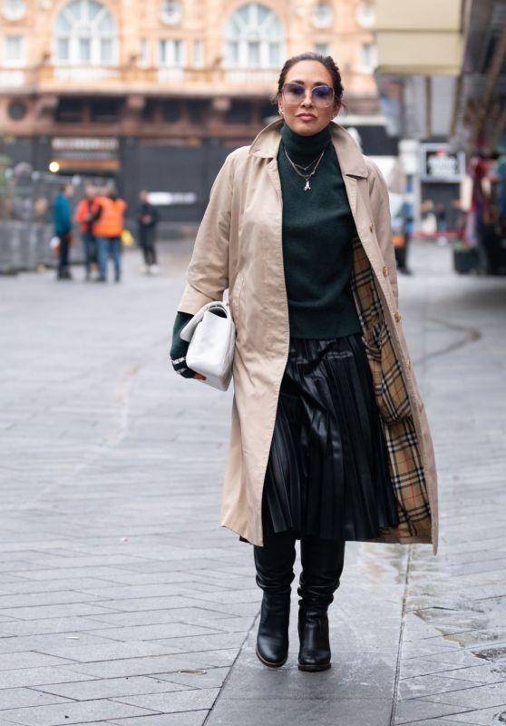 Myleene Klass - Out in London 10/18/2021