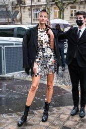 Natasha Poly – Vogue Paris Celebrating its 100th Anniversary at the Palais Galliera in Paris 10/01/2021