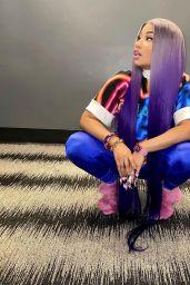 Nicki Minaj - Live Stream Video and Photos 10/11/2021