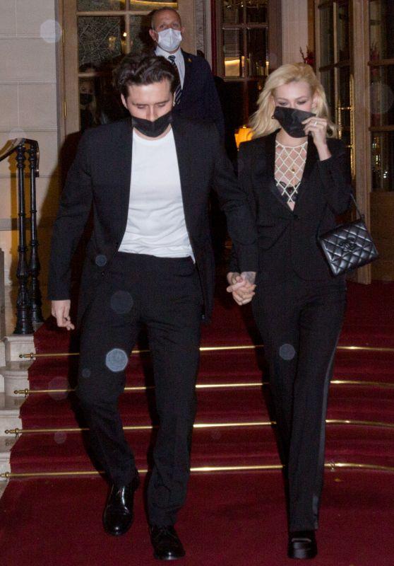 Nicola Peltz - Leaving Ritz Hotel in Paris 10/02/2021