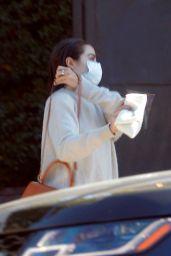 Olivia Culpo - Leaving a Hair Salon in West Hollywood 10/12/2021