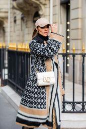 Olivia Culpo Street Fashion - Paris 09/30/2021