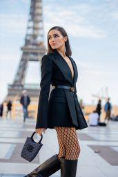 Olivia Culpo Wearing Fendi O