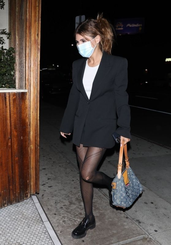 Olivia Jade Giannulli at The Nice Guy in West Hollywood 10/18/2021