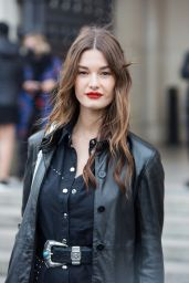 Ophelie Guillermand – Leaving L'Oreal Show at Paris Fashion Week 10/03/2021