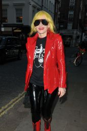 """Pam Hogg - Arrives for """"Quant"""" Premiere at 65th BFI London Film Festival"""