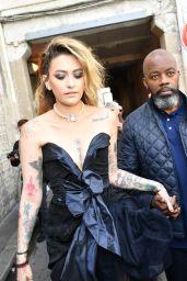 Paris Jackson – Vivienne Westwood Fashion Show in Paris 10/02/2021