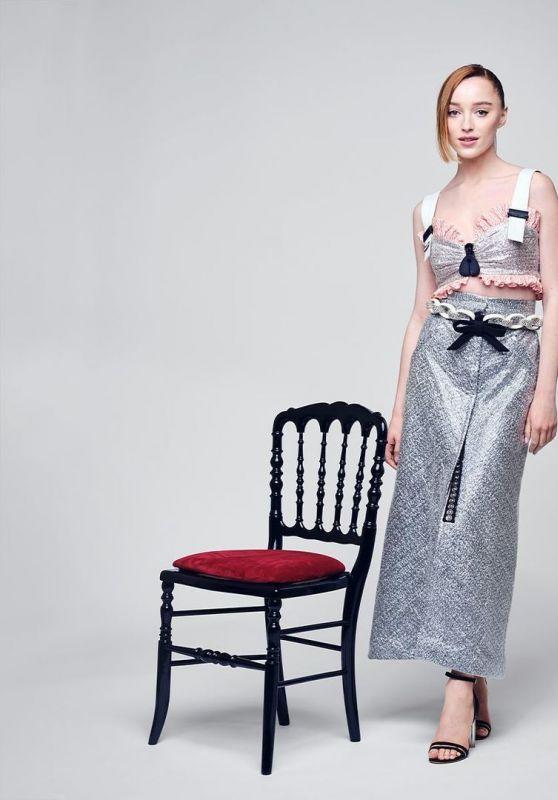 Phoebe Dynevor - Portrait for the Louis Vuitton Women's Collection Show in Paris October 2021