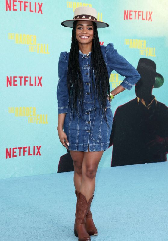 """Rachel Lindsay – """"The Harder They Fall"""" Special Screening in LA"""