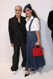 Rachel Zegler – Dior Fashion Show at Paris Fashion Week 09/28/2021