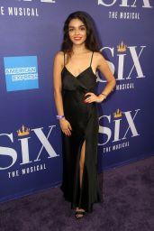 "Rachel Zegler - Musical ""Six"" on Broadway at The Brooks Atkinson Theatre in New York 10/03/2021"
