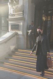Rebecca Hall - Out in London 10/11/2021